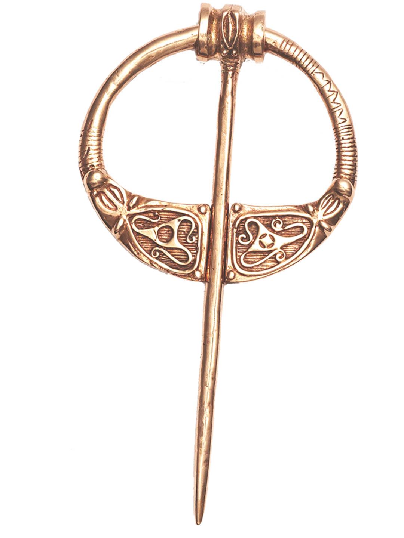 Bronze Zoomorphic Brooch